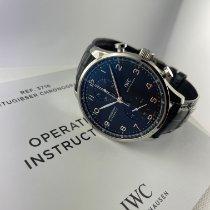 IWC Portugieser Chronograph neu 2021 Automatik Chronograph Uhr mit Original-Box und Original-Papieren IW371609