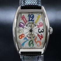Franck Muller White gold 29mm Quartz 7502 QZ pre-owned