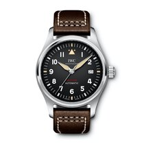 IWC Pilot's Watch Automatic 36 Steel 39mm Black Arabic numerals United States of America, California, Newport Beach