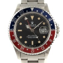 Rolex GMT-Master Stål 40mm Sort