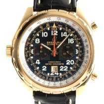 Breitling Chrono-Matic (submodel) Or jaune 44mm Noir