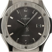 Hublot Classic Fusion Racing Grey 542.NX.7071.LR Very good Titanium 42mm Automatic