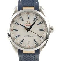 Omega Seamaster Aqua Terra Stahl 41mm Weiß