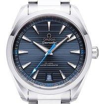 Omega Seamaster Aqua Terra neu 2021 Automatik Uhr mit Original-Box und Original-Papieren 220.10.41.21.03.002