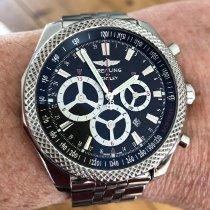 Breitling Bentley Barnato Steel 49mm Black