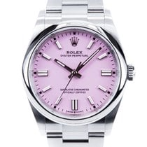 Rolex Oyster Perpetual 36 Steel 36mm Pink No numerals