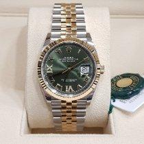 Rolex Datejust 126233 Neu Gold/Stahl 36mm Automatik
