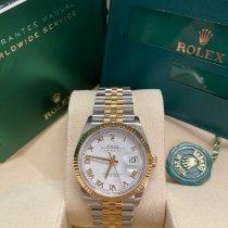 Rolex Datejust Gold/Stahl 36mm Weiß Deutschland, Bremen - Vegesack