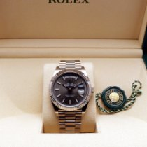 Rolex 228239 Or blanc 2019 Day-Date 40 40mm occasion France, Paris