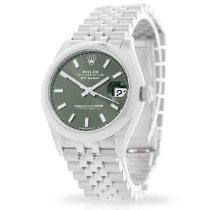 Rolex Lady-Datejust Steel 31mm Green Roman numerals United Kingdom, London
