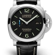 Panerai Luminor Marina 1950 3 Days Automatic Steel 44mm Black Arabic numerals United States of America, New York, New York City