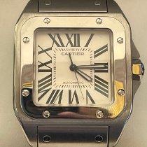 Cartier Santos 100 2656 Muy bueno Acero 38mm Automático