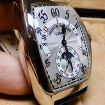 Franck Muller Cintrée Curvex Белое золото 55mm Cеребро