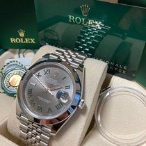 Rolex Datejust Steel 41mm Grey Roman numerals United Kingdom, London
