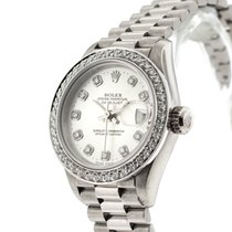 Rolex 79179 Or blanc 2004 Lady-Datejust 26mm occasion