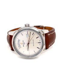 Breitling Transocean Day & Date Steel 43mm Silver No numerals United States of America, Florida, PENSACOLA