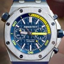 Audemars Piguet Royal Oak Offshore Diver Chronograph pre-owned 42mm Blue Chronograph Rubber