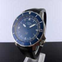 Mühle Glashütte Seebataillon GMT Titanium 45mm Blue