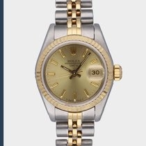 Rolex Lady-Datejust occasion 26mm Champagne Date Or/Acier