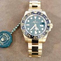 Rolex GMT-Master II 116718LN Новые Желтое золото 40mm Автоподзавод