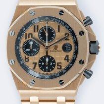 Audemars Piguet Royal Oak Offshore Chronograph подержанные 42mm Золотой Хронограф Дата Pозовое золото