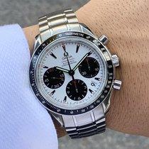 Omega Speedmaster Date Steel 40mm White No numerals