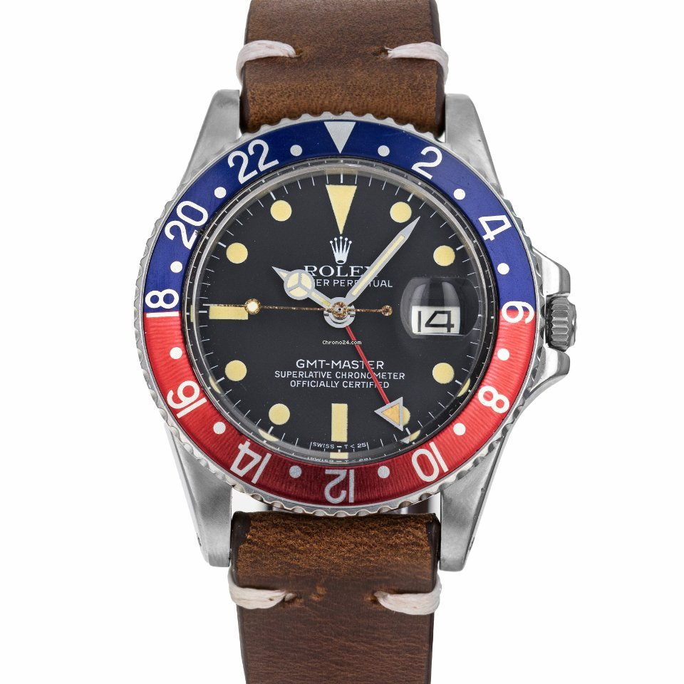 Rolex GMT-Master 1675 1980 pre-owned