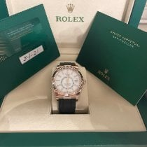 Rolex Sky-Dweller Rose gold 42mm Grey No numerals United States of America, Oklahoma, Woodward