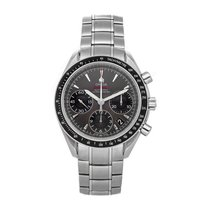 Omega Speedmaster Date pre-owned 40mm Grey Chronograph Date Fold clasp