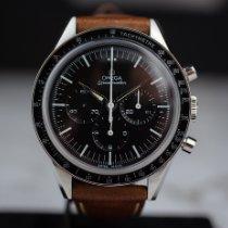 Omega Speedmaster Professional Moonwatch Steel 39.7mm Black No numerals Australia
