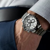 Rolex Daytona Steel 40mm White No numerals United States of America, New Jersey, Oradell