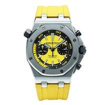 Audemars Piguet Royal Oak Offshore Diver Chronograph Acero 42mm Amarillo Sin cifras