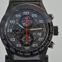 TAG Heuer Carrera Calibre HEUER 01 Steel 45mm Black Arabic numerals United States of America, California, Stockton