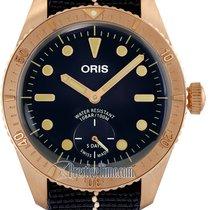 Oris Carl Brashear Bronze 40mm Blue United States of America, New York, Airmont