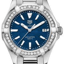 TAG Heuer Aquaracer Lady Aço 35mm Azul