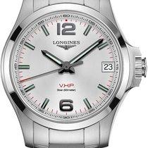 Longines Women's watch Conquest 36mm Quartz new Watch with original box 2021