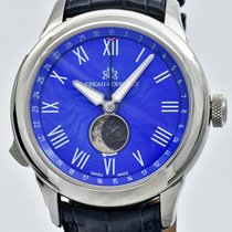 Lebeau-Courally White gold 42mm Automatic