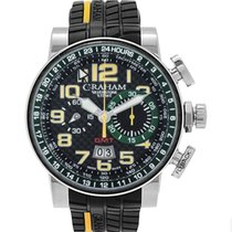 Graham Silverstone 2BLCH.B33A New Steel 48mm Automatic