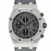 Audemars Piguet Royal Oak Offshore Chronograph Acier 42mm Gris Arabes
