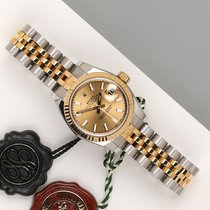 Rolex Lady-Datejust occasion 26mm Or Or/Acier