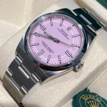 Rolex Oyster Perpetual 36 Acero 36mm Rosa Sin cifras