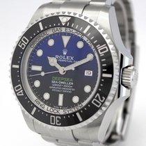 Rolex Sea-Dweller Deepsea nuevo 2021 Automático Reloj con estuche y documentos originales 126660 D-BLUE