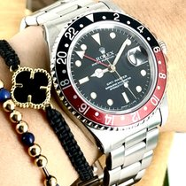 Rolex GMT-Master Stahl 40mm Schwarz Keine Ziffern Österreich, Wien