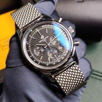 Breitling Transocean Chronograph AB015212/BA99 Новые Сталь 43mm Автоподзавод