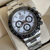 Rolex Daytona Stahl 40mm Weiß Keine Ziffern Schweiz, Geneve