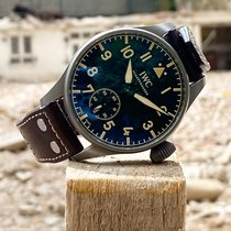 IWC Big Pilot Titanium 48mm Black Arabic numerals United Kingdom, HAYES
