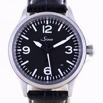 Sinn 656 / 657 Steel 38.5mm Black Arabic numerals