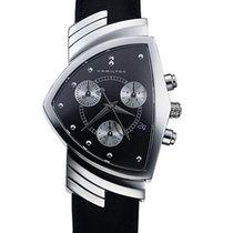 Hamilton Ventura new Quartz Chronograph Watch with original box H24412732