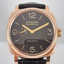 Panerai PAM 00573 Or rose 2017 Radiomir 1940 3 Days Automatic 45mm occasion
