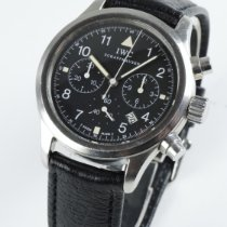 IWC Fliegeruhr Chronograph Stahl 36mm Schwarz Arabisch Deutschland, Villingen Schwenningen